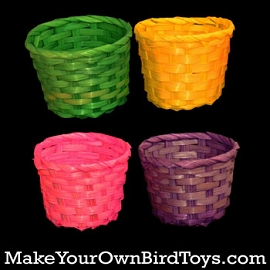 Colored Mini Basket