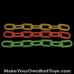 8mm Plastic Chain (7 links)