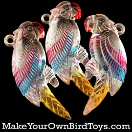 Large Parrot Charms