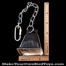 Large Cow Bell Chain