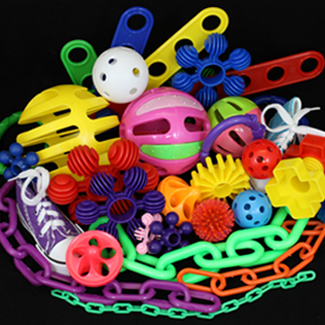 Plastic Toy Parts